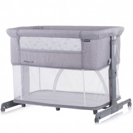 Chipolino Co-sleeping crib with drop side MOMMY 'N ME 2 in 1 Grey