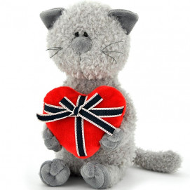 Orange Toys The Cat Buddy with heart 40 cm.