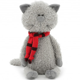 Orange Toys The Cat Buddy in red scarf 30 cm.
