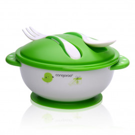 Cangaroo Food bowl with spoon and fork