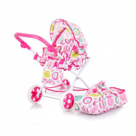 Chipolino Doll stroller NELLY White