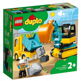 Lego  TOWN Truck & Tracked Excavator 10931