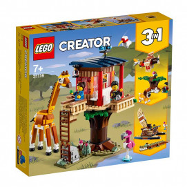 Lego  CREATOR Wooden house for safari and wildlife 3in1 31116