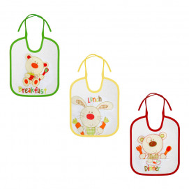 Lorelli Bib with ties 3 pcs small