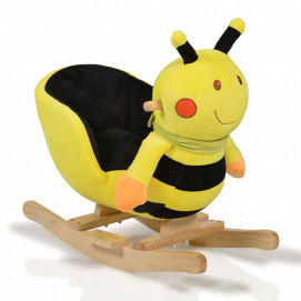 Moni Plush rocking animal Bee