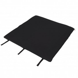Topmark Folding mattress for cot TAYLOR 95 x 95 cm. Black