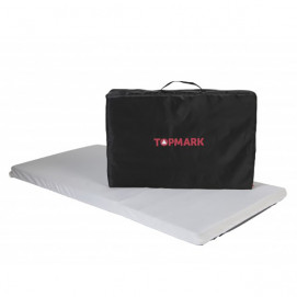 Topmark Folding mattress for cot Grey