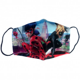 Alma Children's protective mask LADYBUG & CAT 5-15 years