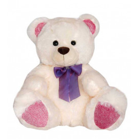 Aмек Toys Big Bear with colorful lights  pink 50 cm.