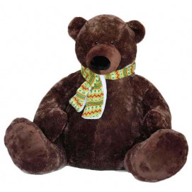 "Aмек Toys Bear with scarf of ""Masha and the bear"" 61 cm."