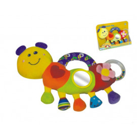Moni Toys Soft toy smiling Caterpillar