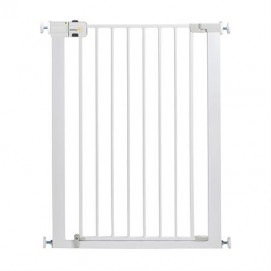 Safety 1st Universal high metal barrier door - white