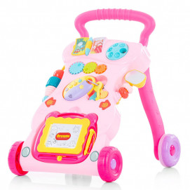 Chipolino Musical first steps push toy FUNNY Pink
