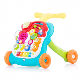 Chipolino Musical first steps push toy 2 in 1 MULTI Green
