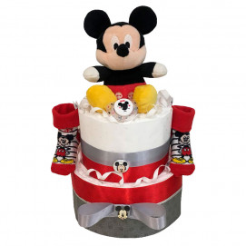 Alma Diaper cake MICKEY MOUSE Red