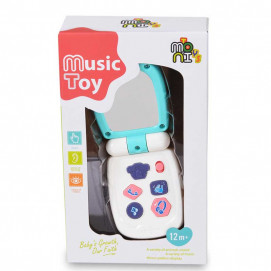 Moni Toys Baby music phone with cover