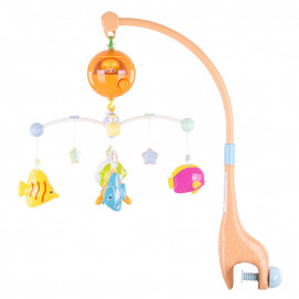 Chipolino Musical mobile for bed Merry Fish