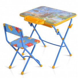 Moni Table with one chair NATURE KU2P