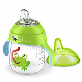 Philips Avent Non-pouring cup with soft tip 260ml 12m+ Frog
