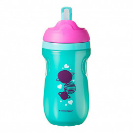 Tommee Tippee Active Straw Cup 12m+ violet