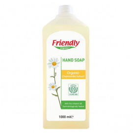 Friendly Organic Natural hand soap with chamomile extract 1000ml.