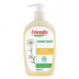 Friendly Organic Natural hand soap with chamomile extract 500ml.