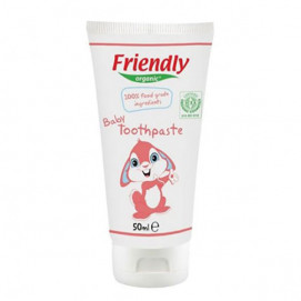 Friendly Organic Organic baby toothpaste 50 ml FR-01727