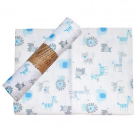 Alma Baby diaper 80x80 cm Animals