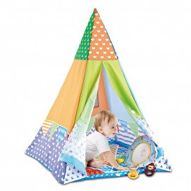 Chipolino 2 в 1 Activity play mat / play camp PARTY TIME