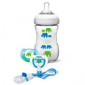Philips Avent Gift Set Blue Elephants