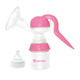 Lorelli Manual breast pump breast milk pink