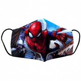 Alma Children's protective mask SPIDER-MAN 5-15 years
