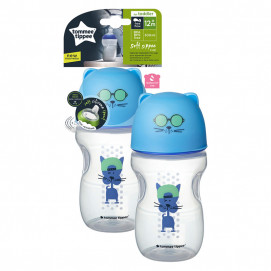 Tommee Tippee Soft Sippee Cup Blue 300ml 12+months