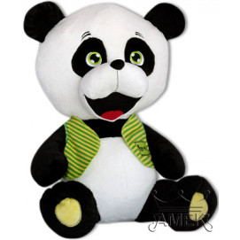 Aмек Toys Panda with green vest 52cm