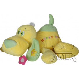 Aмек Toys Dog Happy baby 65 cm. yellow