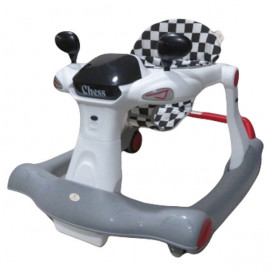 Cangaroo Baby walker CHESS 2in1 Red