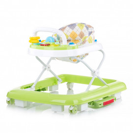 Chipolino Musical baby walker 3 in 1 ROSKY Pear