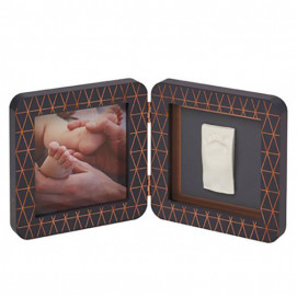 Baby Art Imprint Print square Dark gray frame BA.00011.001