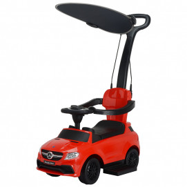 Chipolino Ride on car with handle Mercedes GLE 63 Red