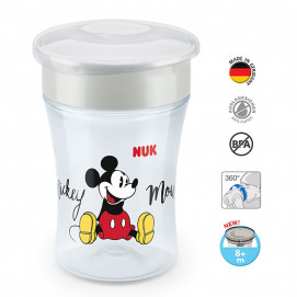 Nuk Magic Cup 360° MICKEY 230 ml 8m+ Grey 10.255.425