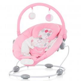 Chipolino Baby musical bouncer SIESTA Pink