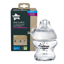 Tommee Tippee Glass bottle feeding EASI VENT 150ml 0m+