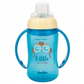 Canpol Spill bottle with OIB. nozzle Future Daydreams 12 months + 320 ml. turquoise