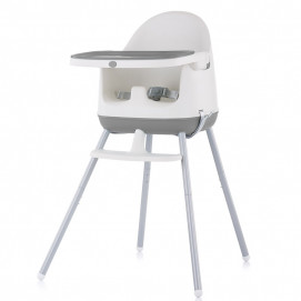 Chipolino High chair 3 in 1 PUDDING Grey