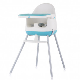 Chipolino High chair 3 in 1 PUDDING Peony Blue