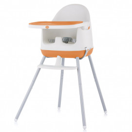 Chipolino High chair 3 in 1 PUDDING Orange
