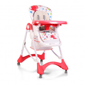 Cangaroo Highchair for feeding Mint Red