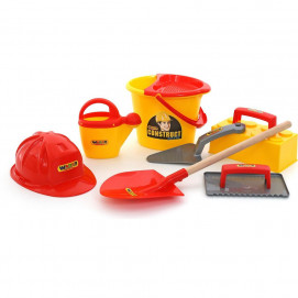 Polesie Construction tools with shovel 8 el.