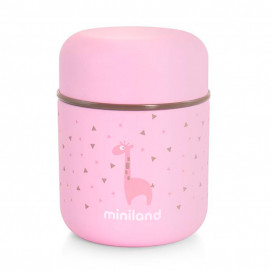 Miniland Silky food thermos 280 ml Pink 89245