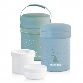 Miniland Thermos Thermetic 3 in 1 700/350/200 ml Blue 89226